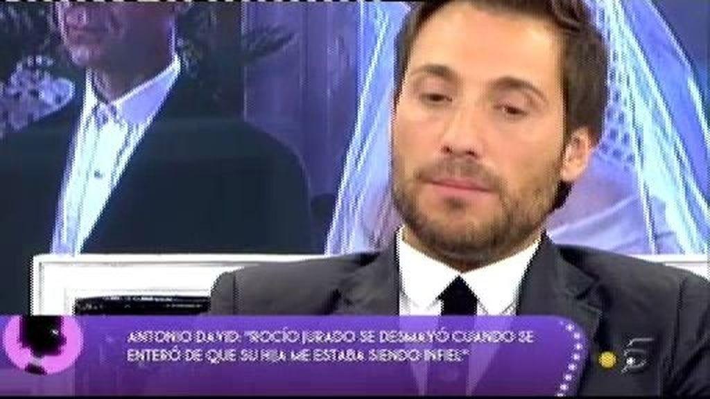"""Antonio David:""""Creo que Rocío Jurado no dejó herencia a mis hijos para que sigan estando con su madre"""""""