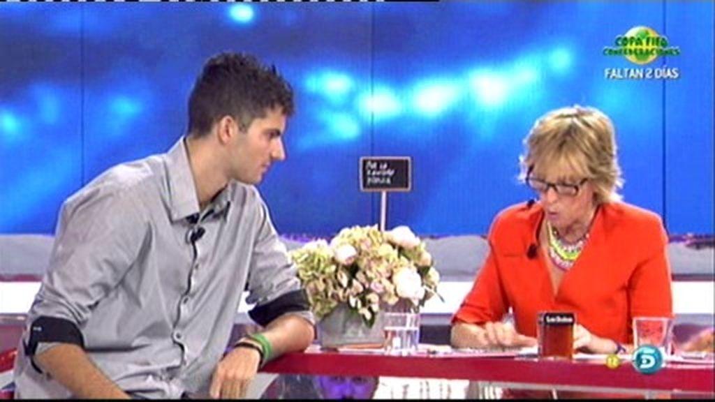 Ana Belén, primera fan que entrará en la final