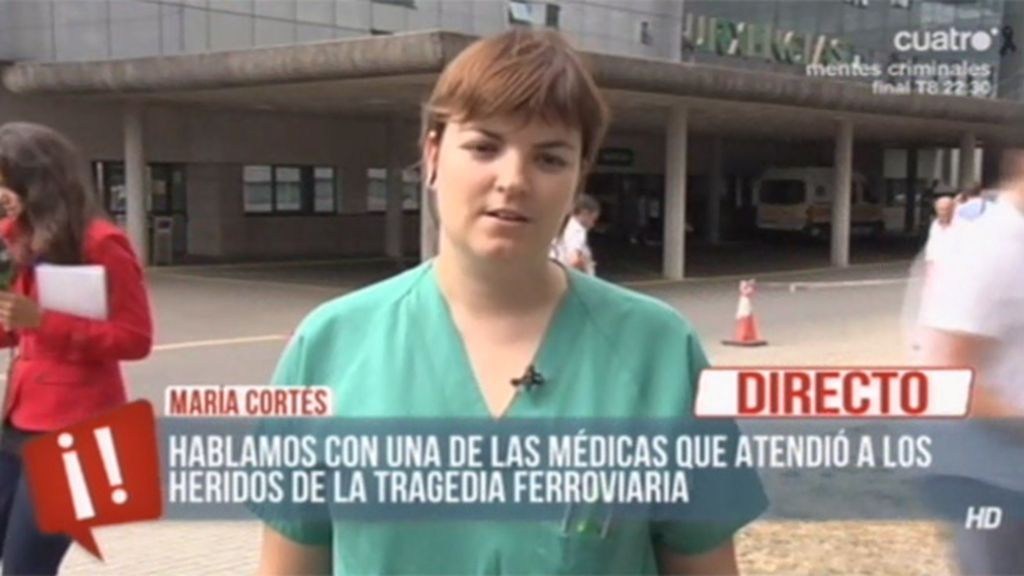 """Médico del hospital clínico: """"Fue horroroso ver a familias buscando entre los heridos"""""""