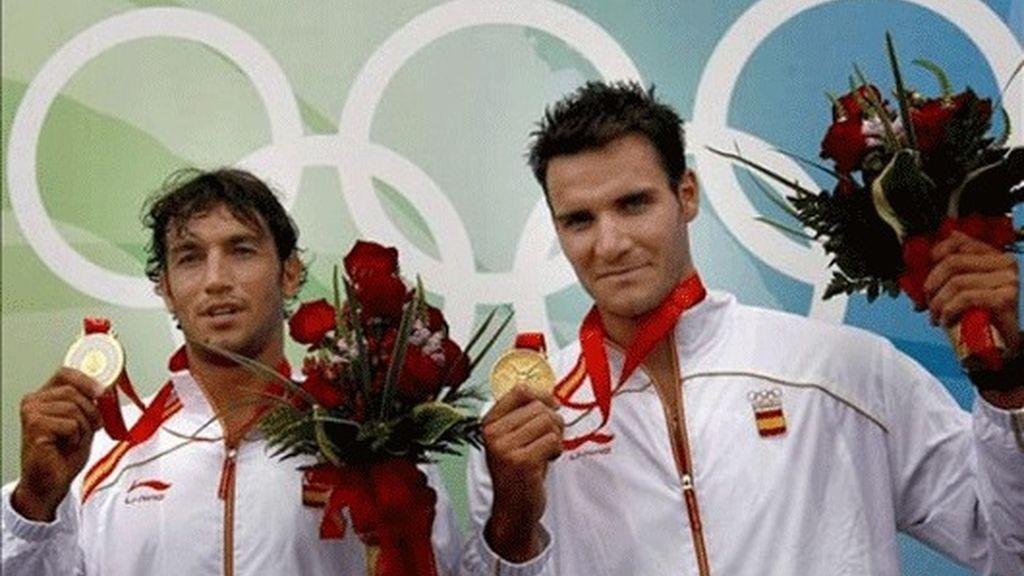 Carlos Pérez y Saúl Craviotto