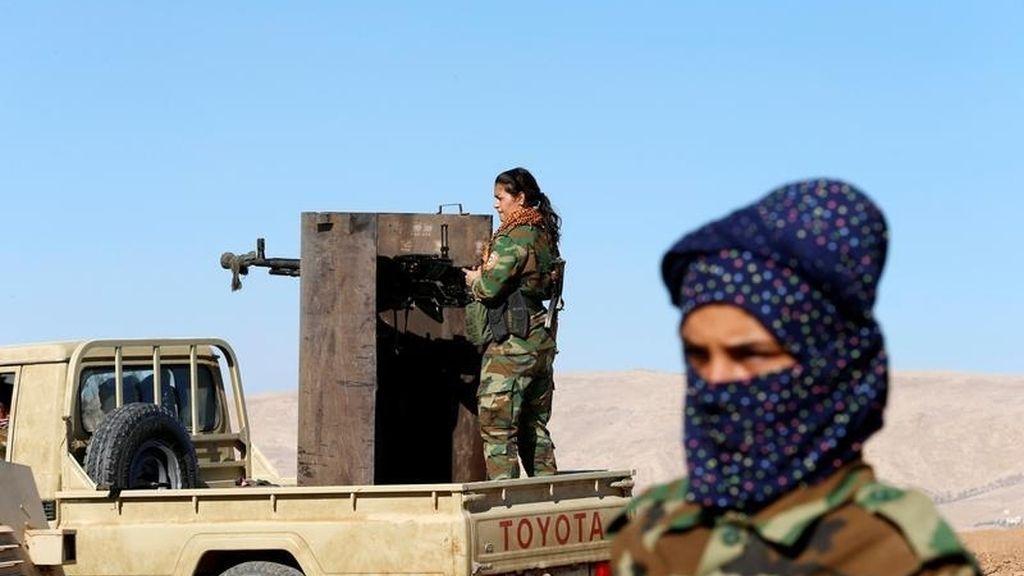 Batalla de militantes islámicos