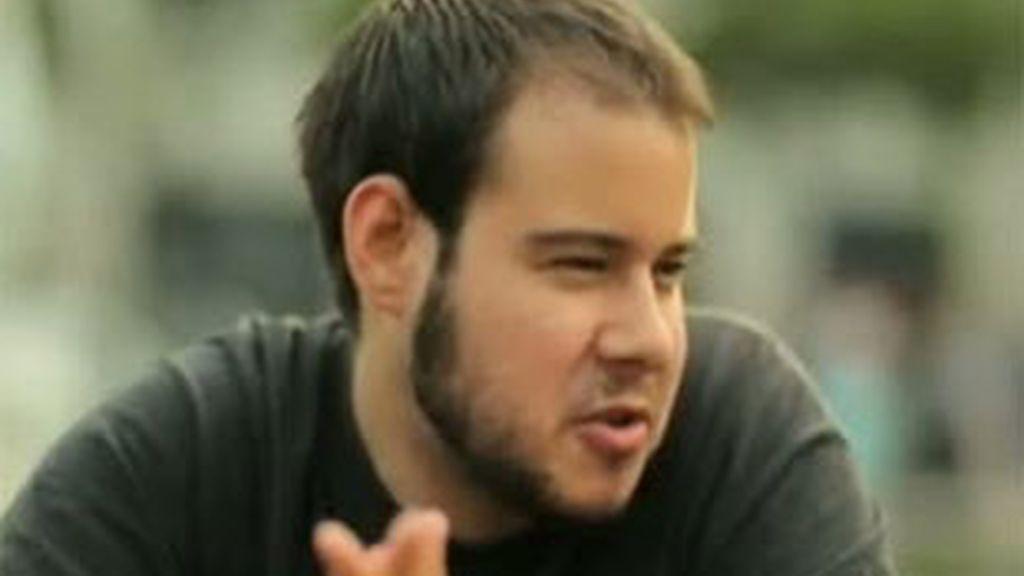 Imagen de archivo del rapero Pablo Hasél. Foto: Informativos Telecinco.