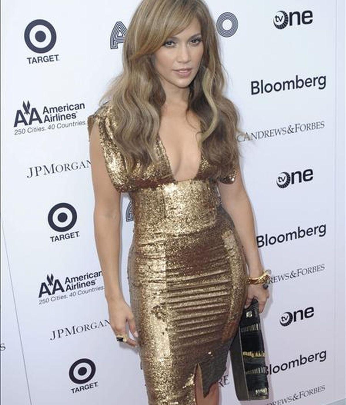 La cantante y actriz estadounidense Jennifer López. EFE/Archivo