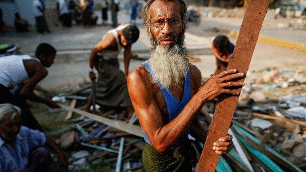 Al menos ocho muertos en un enfrentamiento entre refugiados budistas y musulmanes birmanos