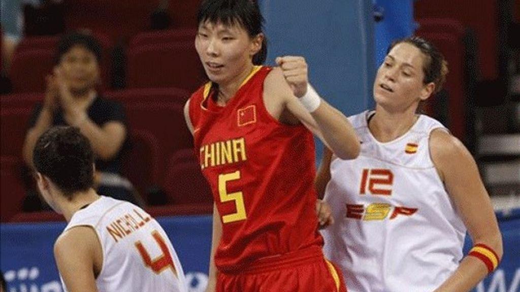 77-62. China luchará por el podio tras vencer a Bielorrusia