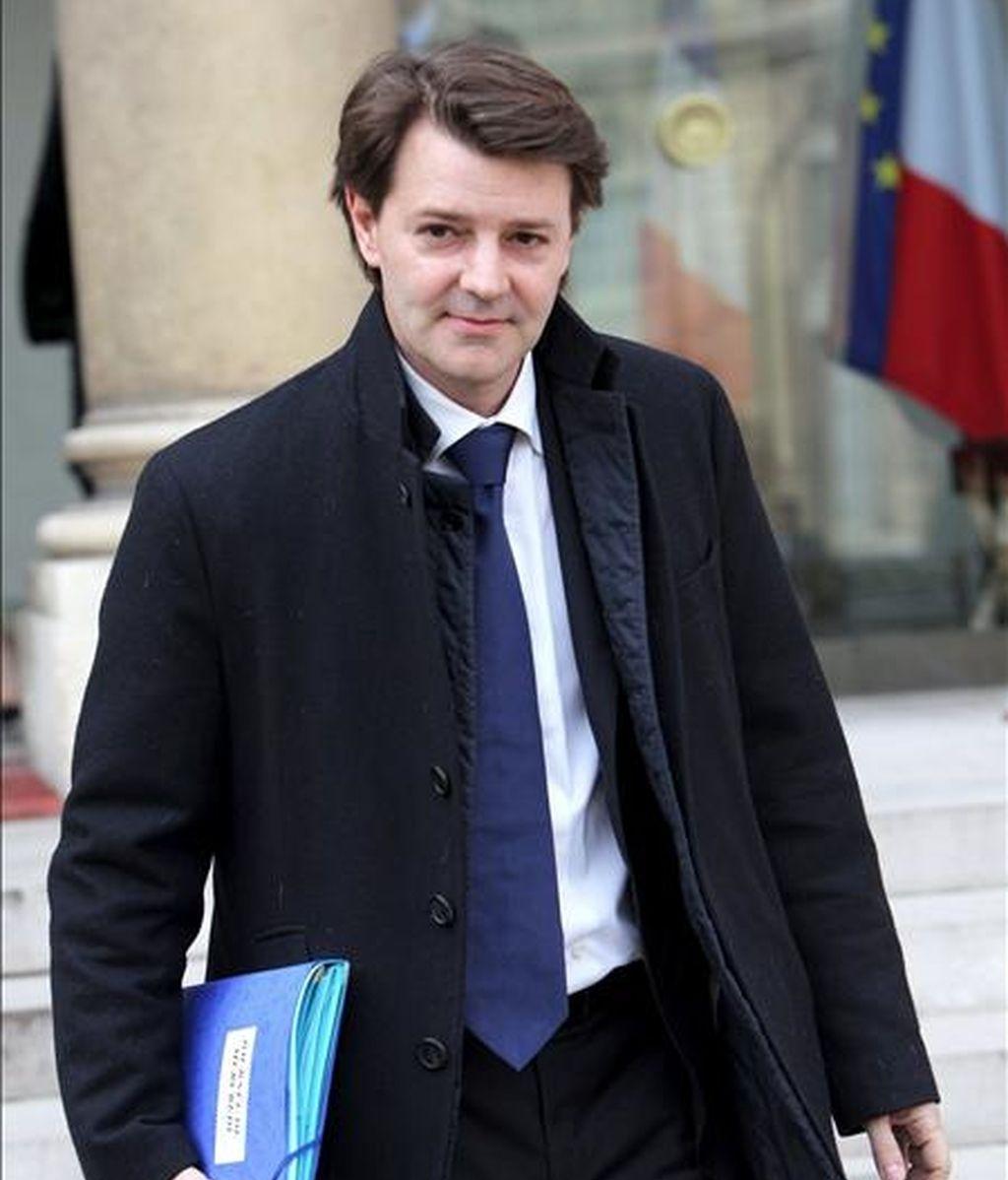 El ministro francés de Presupuestos, Francois Baroin. EFE/Archivo