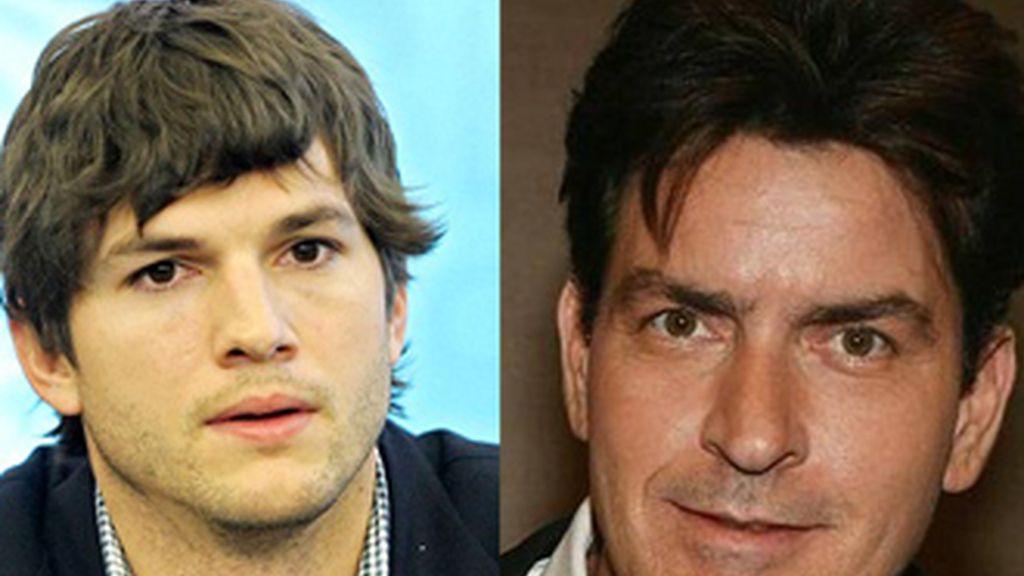 Ashton Kutcher sustituirá a Charlie Sheen en 'Dos hombres y medio'.