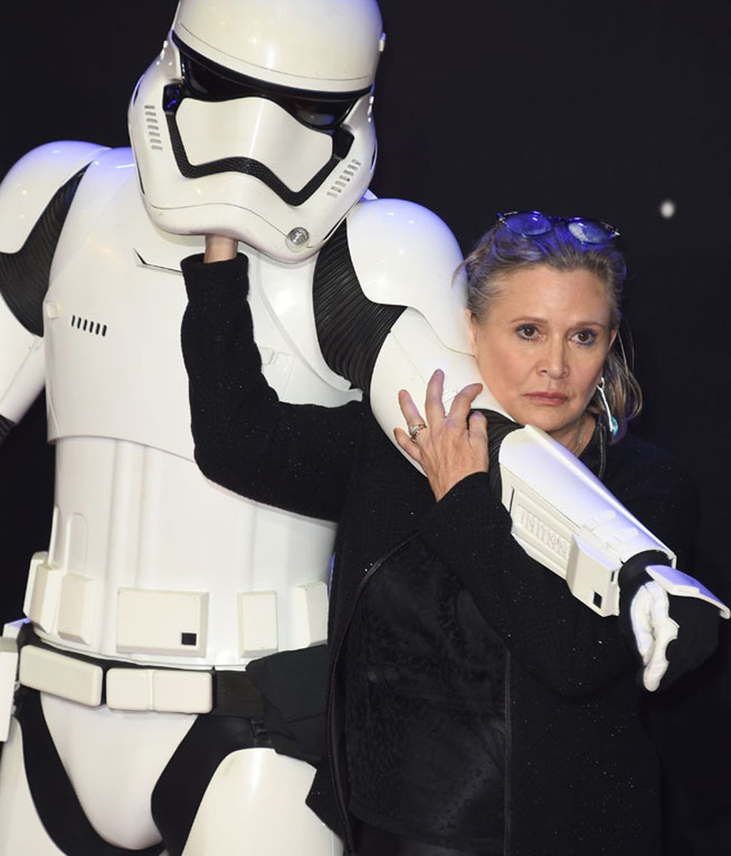 Fallece Carrie Fisher, la actriz que encarnó a la Princesa Leia