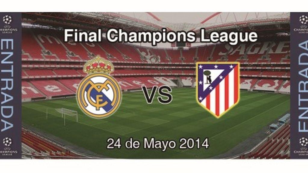 Sorteamos 10 entradas dobles + Hotel + 200€ para la final de la Champions