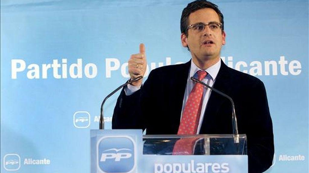 El candidato a lehendakari por el PP del País Vasco, Antonio Basagoiti. EFE/Archivo