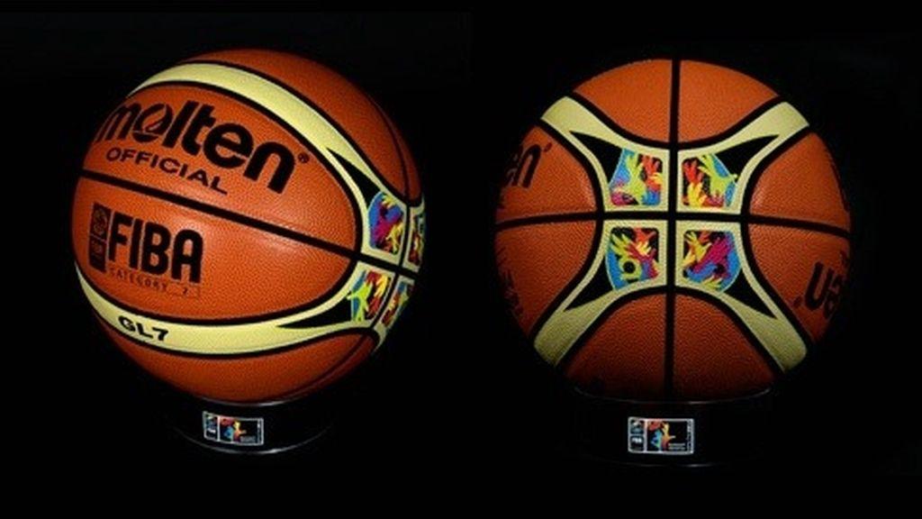 El balón oficial del Mundial de Baloncesto de España 2014