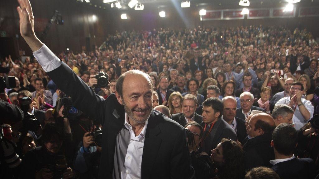 Alfredo Pérez Rubalcaba, nuevo secretario del PSOE