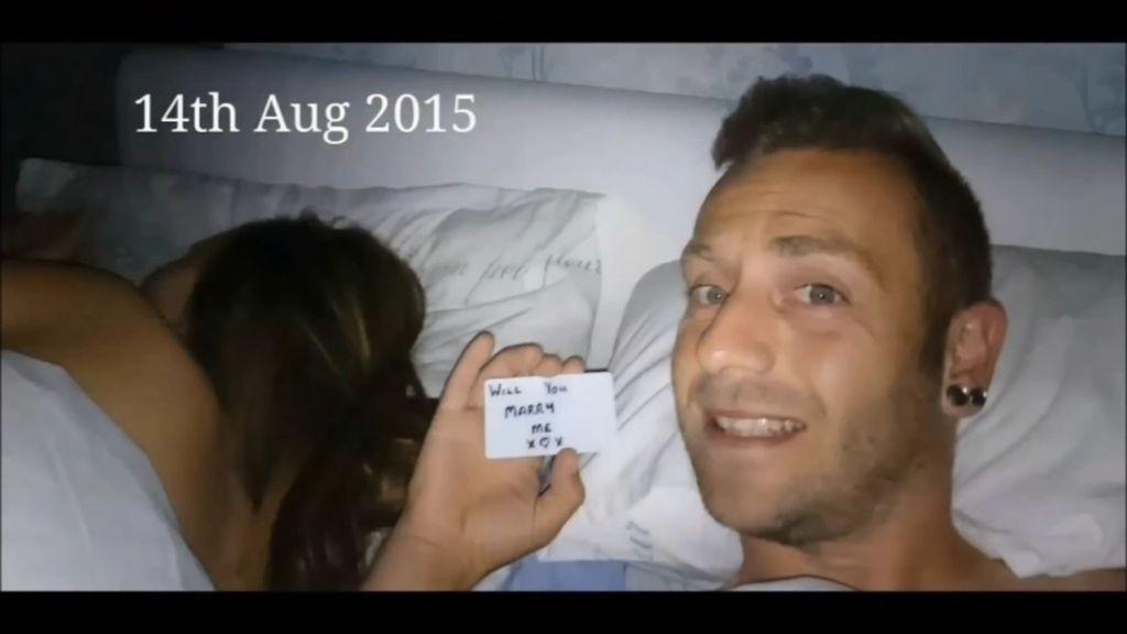 Su novio le pide matrimonio durante 147 días y no se da cuenta