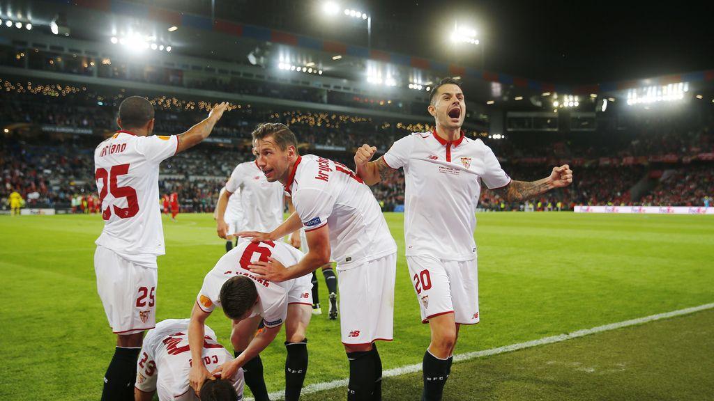 El Sevilla hace historia