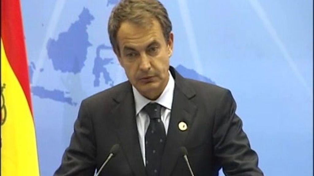 Zapatero defiende la solidez de España