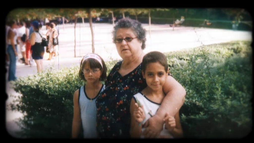 Dani, el ojito derecho de sus abuelos