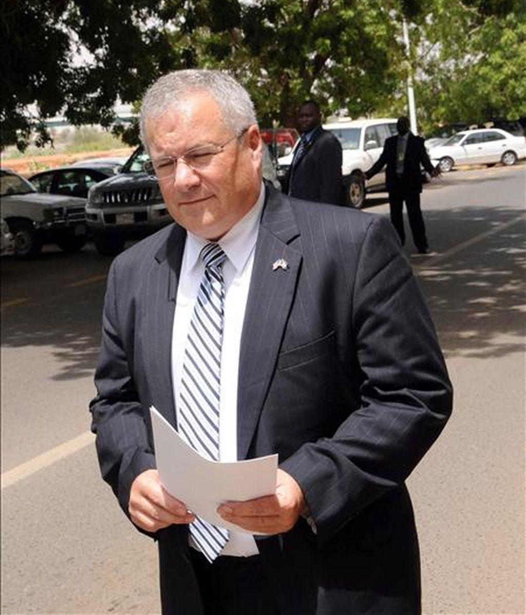 En la imagen, el enviado especial de EE.UU. para Sudán, Scott Gration. EFE/Archivo