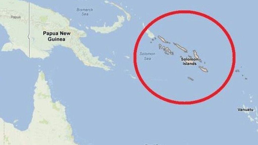 Un terremoto de 6,9 sacude las Islas Salomón