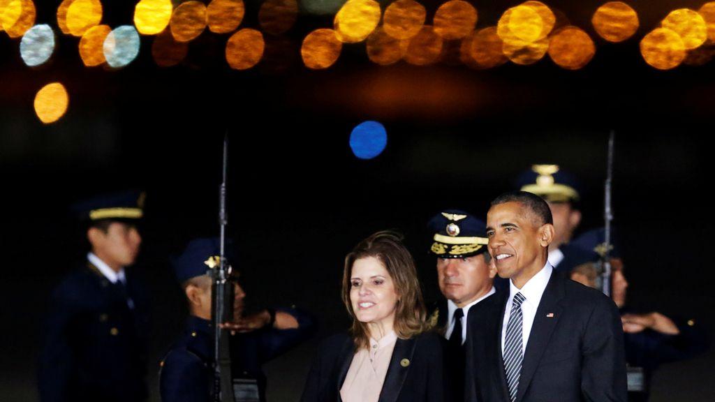 Barack Obama, en uno de sus últimos viajes