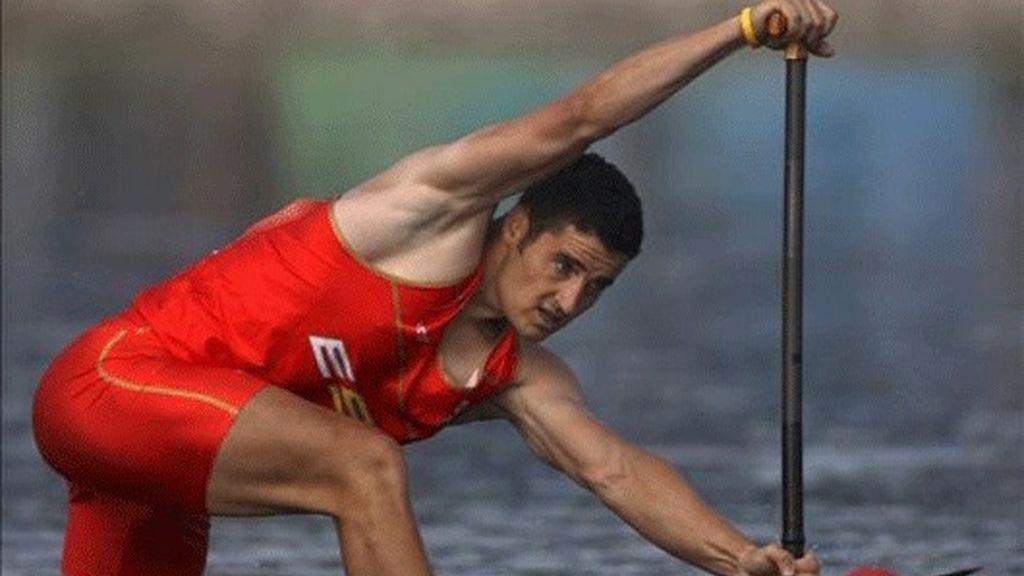 Cal, medalla de plata en la prueba de C-1 1000 metros de piragüismo