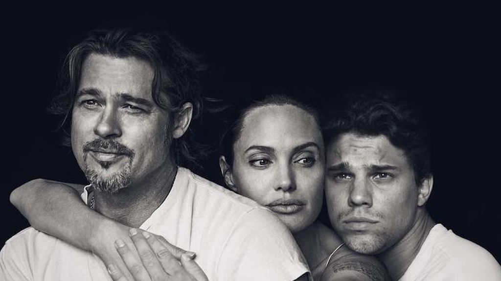 Con Brad Pitt y Angelina Jolie