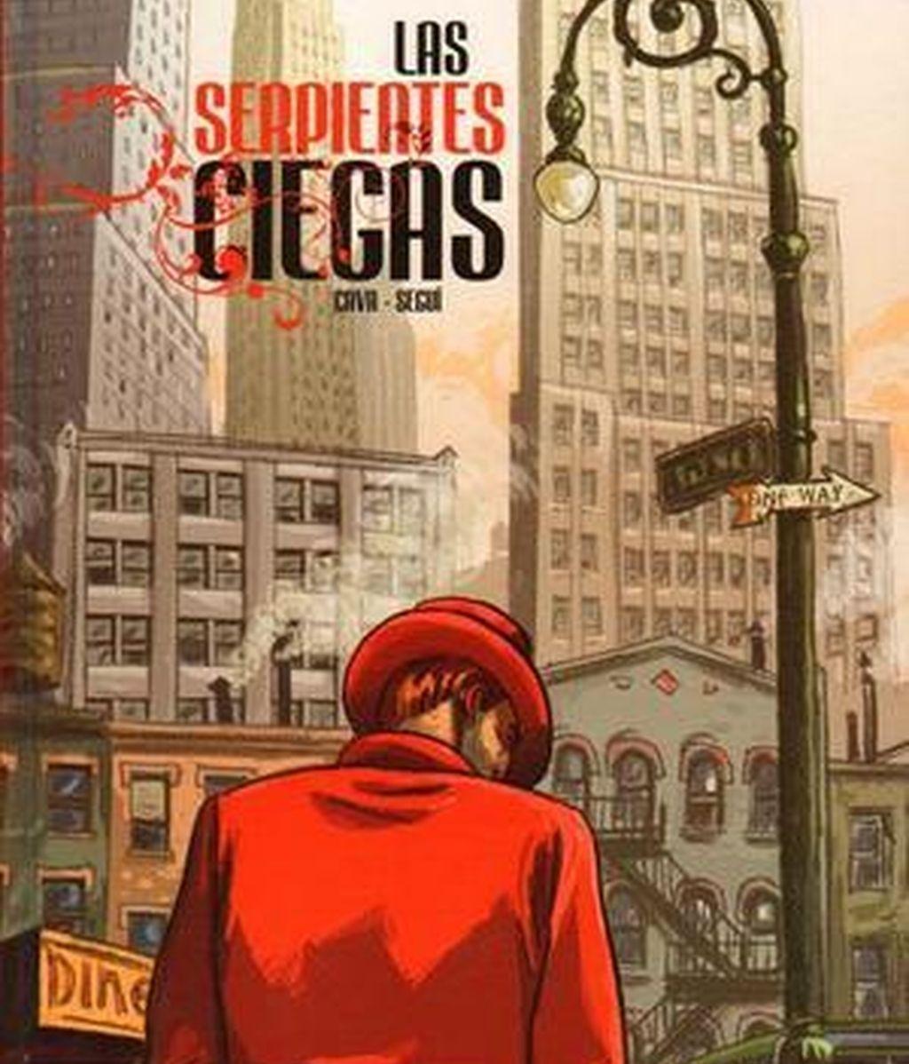La portada de 'Las serpientes ciegas', obra que ha conseguido el Premio Nacional del Cómic.