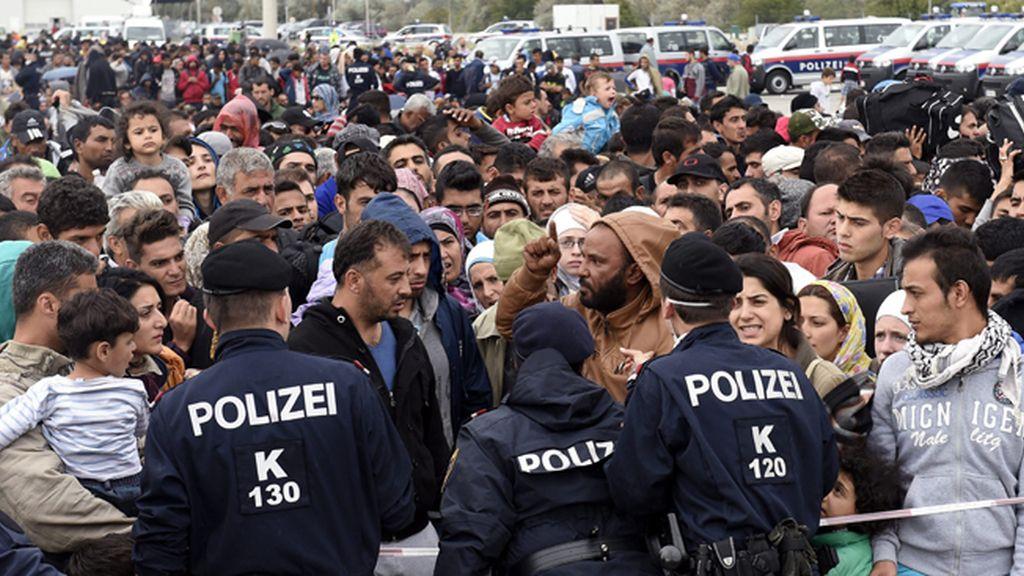 Austria envía al Ejército a su frontera para controlar la ola migratoria