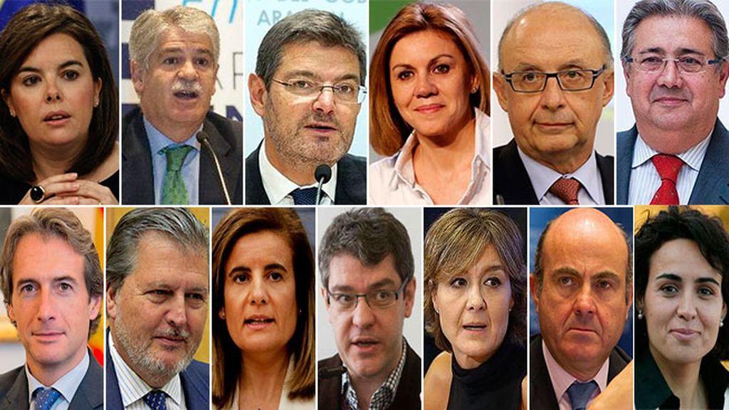 Santamaría mantiene la vicepresidencia y Cospedal entra en el Gobierno