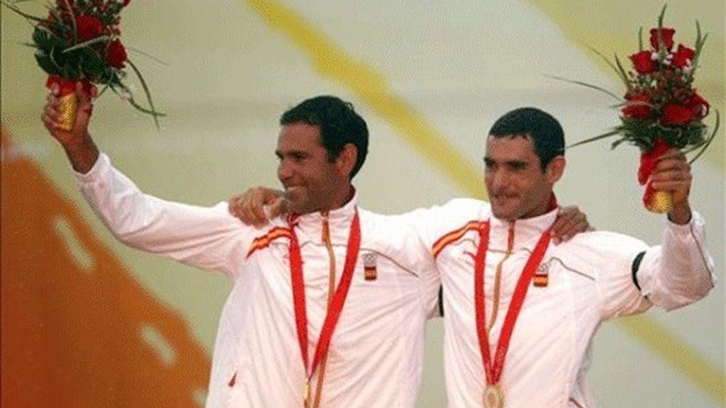 Fernando Echévarri y Antón Paz
