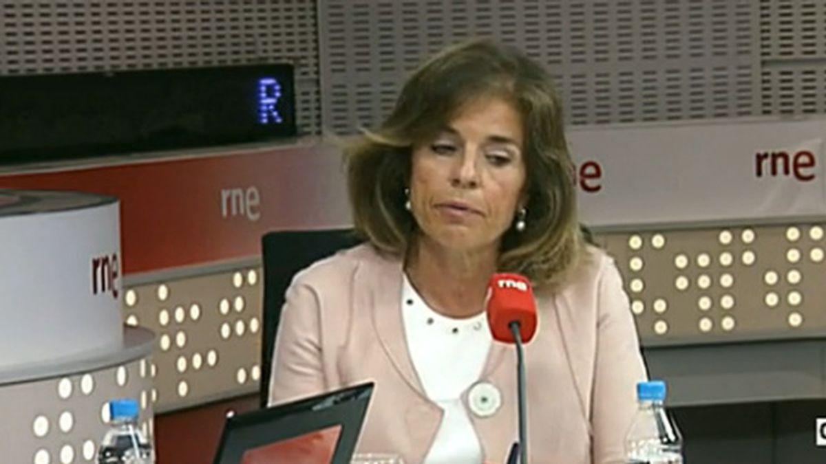 ana Botella, RNE, recogida de basura, Madrid