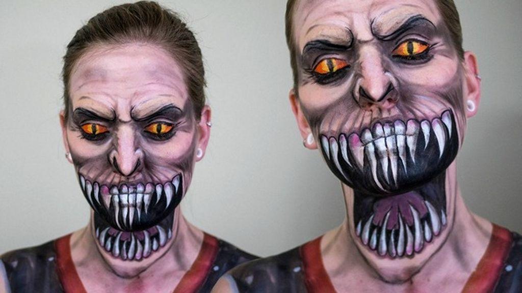 Espectaculares transformaciones solo con maquillaje