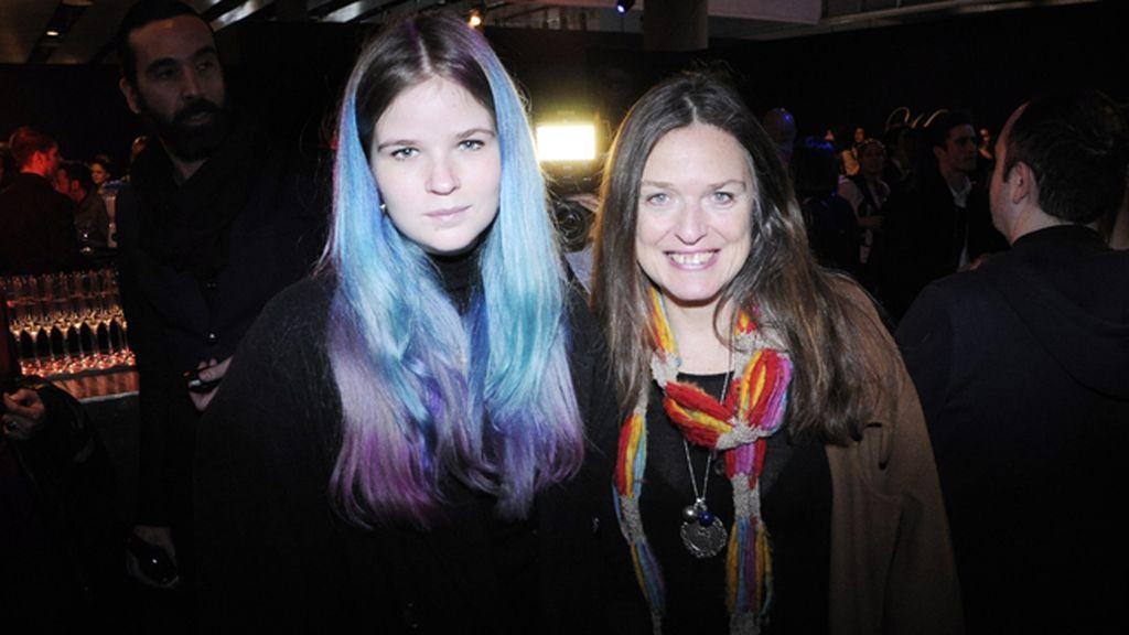 María Rosenfeldt, que debuta como diseñadora el viernes en El Ego, y su madre la fotógrafa Ouka Leele