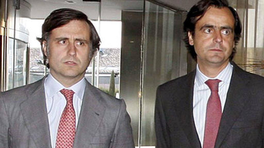 Pablo y Alfonso Ruíz Mateos