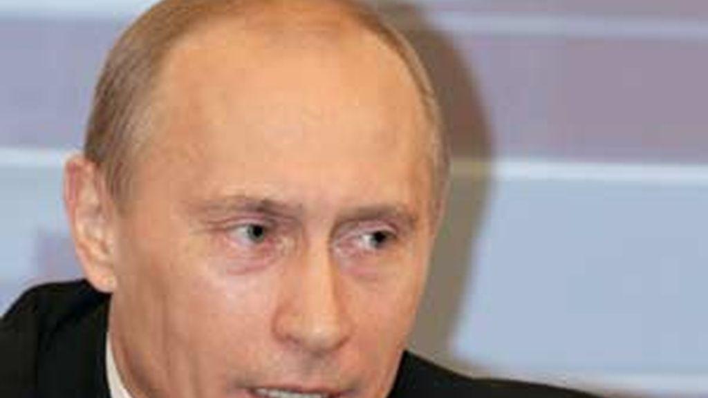 Putin era presidente durante la matanza de Beslán. Foto: EFE