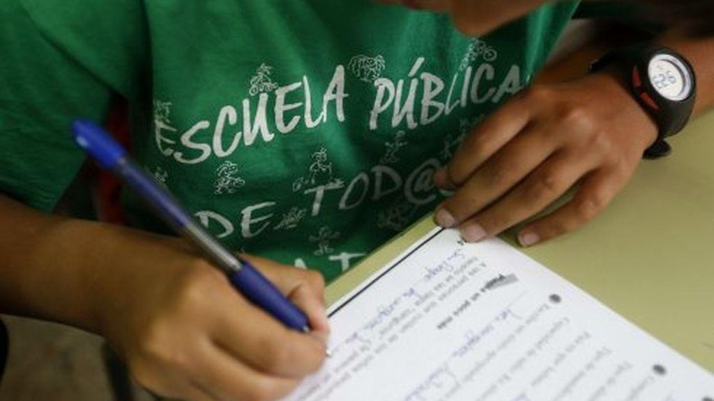 Huelga deberes escuela pública
