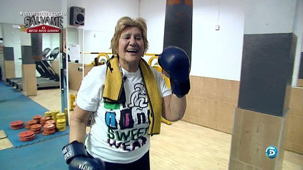Mañana de gimnasio, tarde de boxeo y tres caprichos: croquetas
