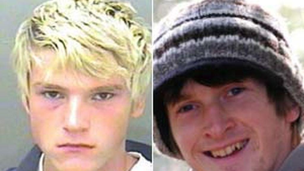 William Upton, a la izquierda, condenado a cuatro años por matar a Adam Rogers (derecha). Foto: Dailymail.com