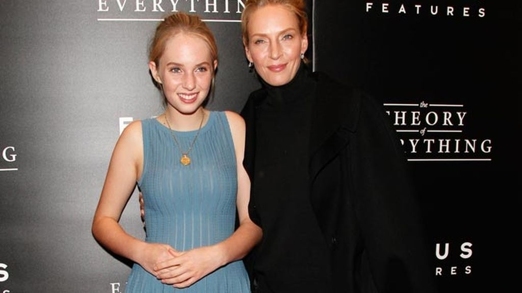 Uma Thurman y Maya Hawke