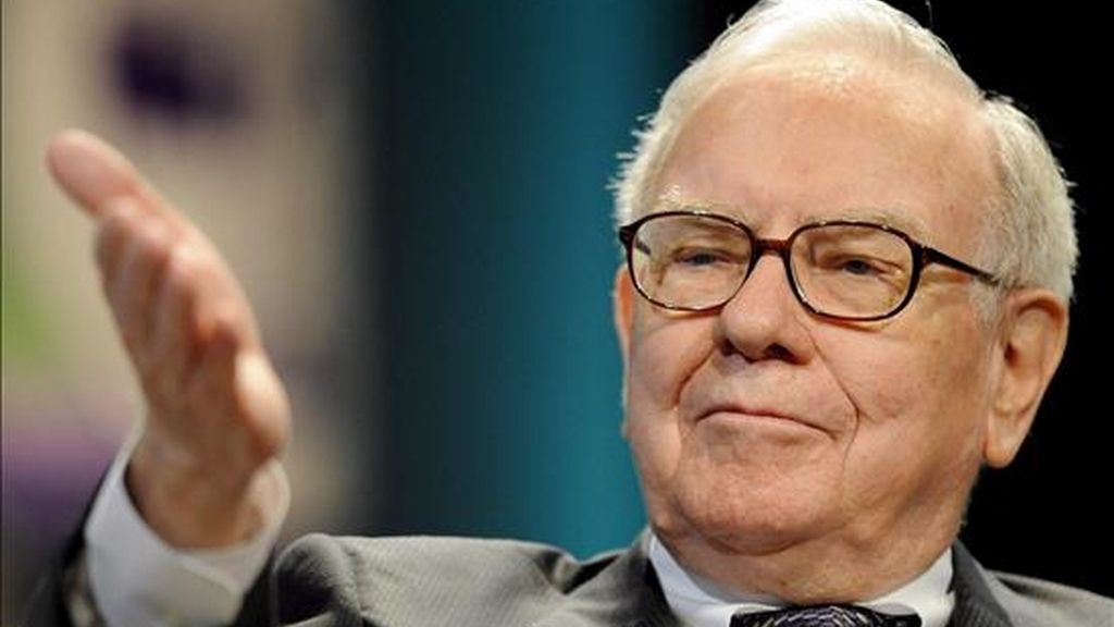 """""""Acabamos de empezar y ya hemos conseguido una respuesta fabulosa"""", señaló Warren Buffet, propietario del holding financiero Berkshire Hathaway y conocido como el """"oráculo de Omaha"""", por su habilidad para predecir la actuación de los mercados. EFE/Archivo"""