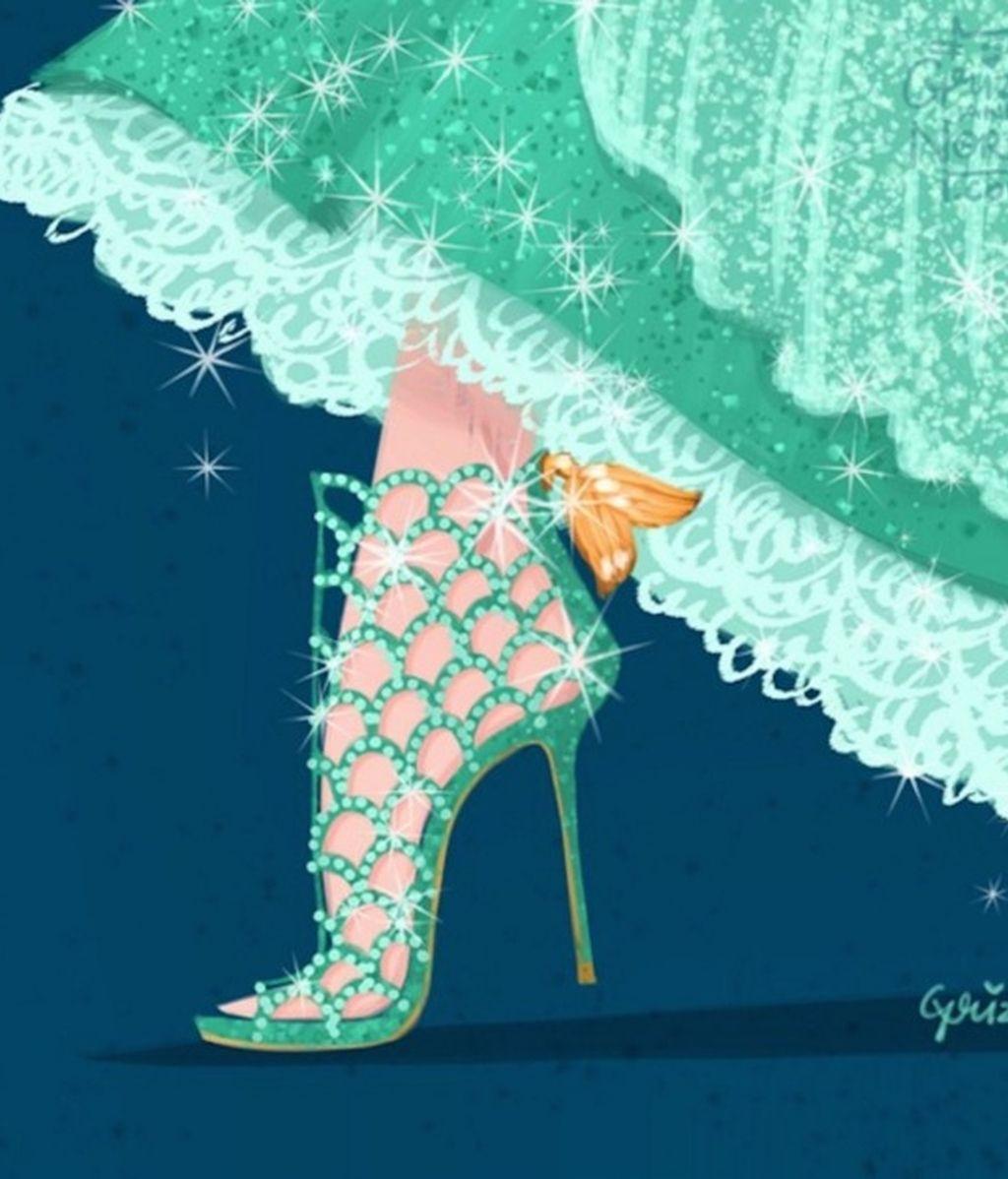 El corte clásico de 'La Sirenita' ingeniado por Sergio Rossi