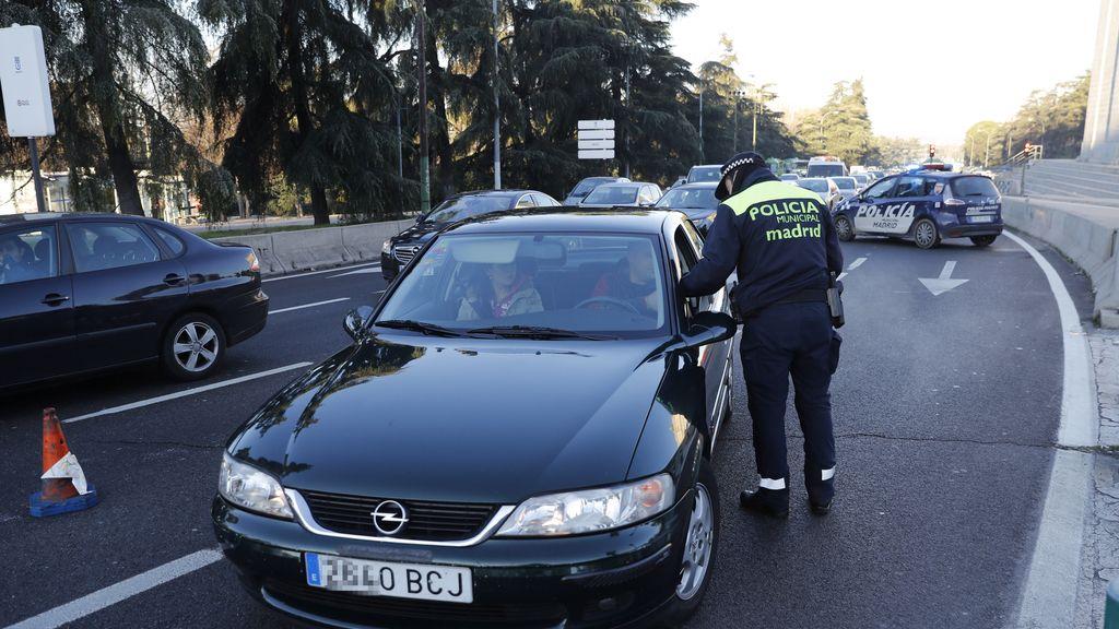 Restricciones por matrícula en Madrid