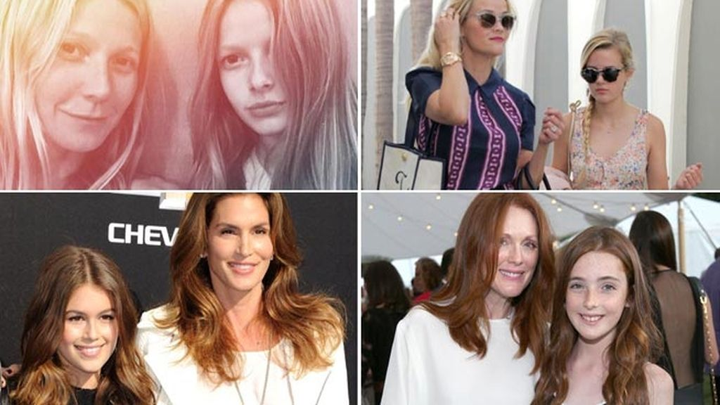 Gwyneth Paltrow y Apple, Julianne Moore y Liv, Cindy Crawford y Kaia...