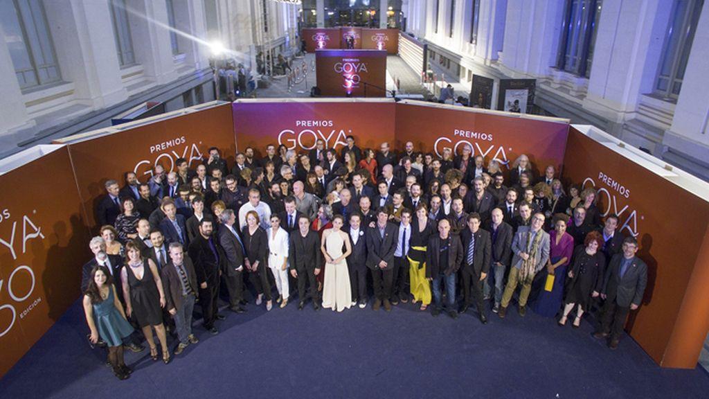 Fiesta de los nominados a los Premios Goya