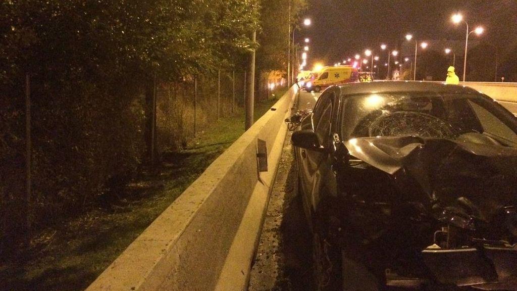Muere un motorista tras recibir el impacto trasero de un vehículo en la A-2 (Madrid)