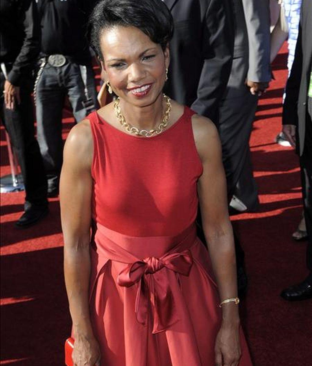 """Imagen de la ex secretaria de EE.UU., Condoleezza Rice, el pasado 15 de julio de 2009. Rice dio a la audiencia los 10 minutos de la """"Romanza"""" del concierto No 20 en Re menor para piano de Wolfgan Amadeus Mozart. EFE/Archivo"""