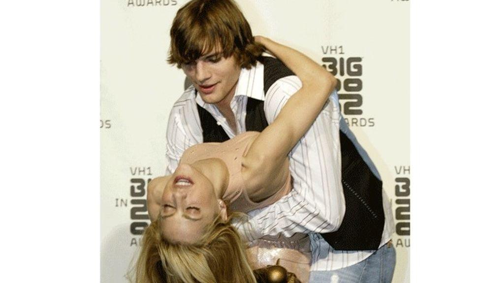 Brittany Murphy y  Ashton Kutcher