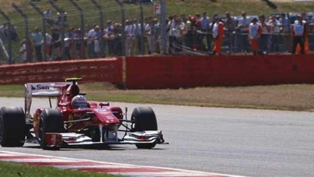 Sensaciones dispares para Alonso