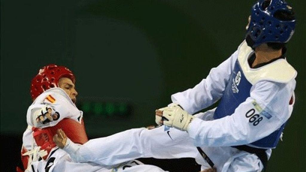 Ramos pasa la primera ronda y se medirá al brasileño Ferreira