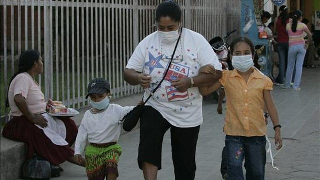 El primer caso de la gripe se detectó en Venezuela el pasado 28 de mayo, en un joven de 22 años que había viajado a Panamá. EFE/Archivo