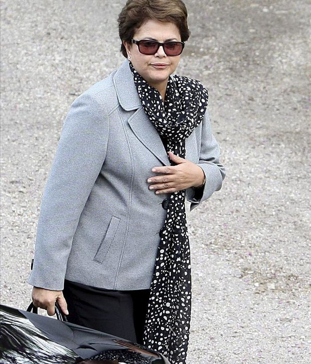 Rousseff tiene previsto partir de Brasilia esta misma noche y llegará a Pekín el próximo lunes, cuando iniciará una visita de Estado de dos días. EFE/Archivo